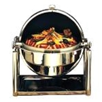 Bon Chef 11001D New Olympia Chafer - 21 1/4\