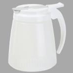Winco PSUD-32 - Syrup Dispenser (Plastic)