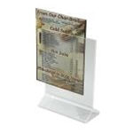 Winco ATCH-57 - Menu Card Holder / Number Stand (5\