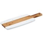 Winco SBMW117 - Marble & Wood Serving Board (9\