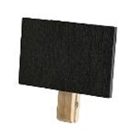 Tablecraft BAMCBCP - Chalkboard with Clothespin Clip (3\