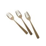 Tablecraft BAMDF475 - Disosable Bamboo Fork (4 3/4\