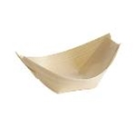 Tablecraft BAMDB65 - Large Disposable Wood Boat (6 1/2\