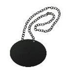 Tablecraft BDCHBD - Chalkboard Necklace for Glass Beverage Dispenser