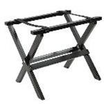 Tablecraft RTT21BK - Mini Table Tray Stand - Black Finish - 9 1/4\