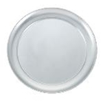 Winco APZT-7 - Aluminum Wide-Rim Pizza Pan - 7\