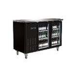 Entree BB-2D-60-G - 1 Door Back Bar Bottle Cooler - Side Mount - (13.8 Cu. Ft.) - ( 2 Year Parts/Labor - 5 Year Compressor Warranty)