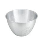 Winco ALO-12 Colander w/o handle, no base, 12 Qt. Aluminum