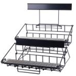Winco APRK-6 Six Compartment Wire Airport Rack
