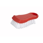 Cutting Board Brush Red