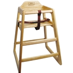High Chair Wood Natural