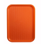 Tray,Fast Food 14X18 Orange