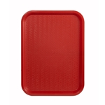 Tray,Fast Food 10X14 Red