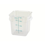 Container Square Clear 4 Qt