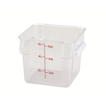 Container Square Clear 6 Qt