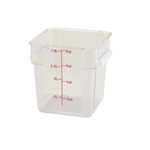 Container Square Clear 8 Qt