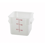 Container Square White 6 Qt