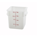 Container Square White 8 Qt