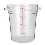 Container Round Clear 4 Qt