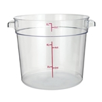 Container Round Clear 6 Qt