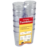 Tumbler 12 Oz Clear Pebble