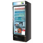 True 1 Door Black Merchandiser