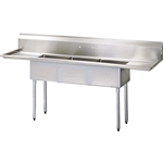 Three Compartment Sink, 90 1/2\