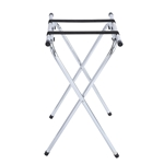 Stand,Tray Metal Chrome