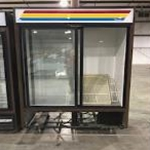 Used True GDM-47 2 Sliding Glass Door Merchandiser