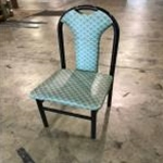Used Greeen Shell Seat w/Black Frame