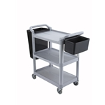 Dish Cart Black 31 X 16 X 37