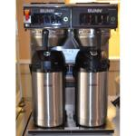 Used Bunn CWTF-Twin-APS (S/N Twin066271)  Double Airpot Coffee Brewer 120/240 1 ph w/2 Airpots
