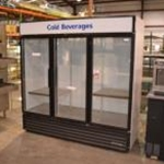 Used True GDM-72 3 Door Glass Door Merchandiser (s/n 11744060)