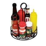 Condiment Caddy Black Wire
