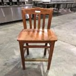 Used Wooden Bar Stool