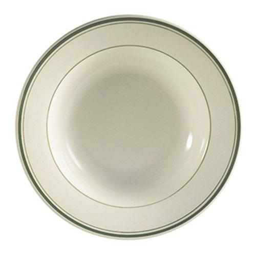 CAC GS-32 3 1/2 oz. Fruit Bowl Green Brier (3 dz per case)