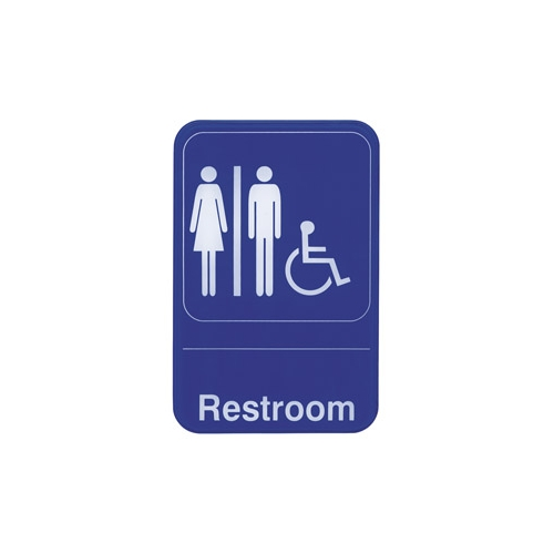 Sign,Restroom Accessible