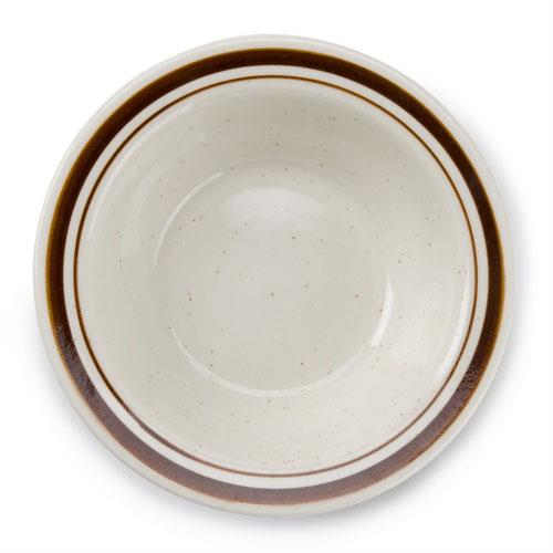CAC AZ-11 5 oz.  Fruit Bowl Arizona Brown Speckle (3 dz per case)