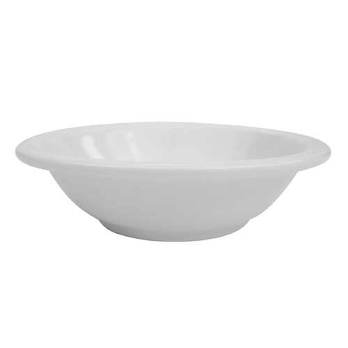 Bright White Fruit Bowl, 4-5/8