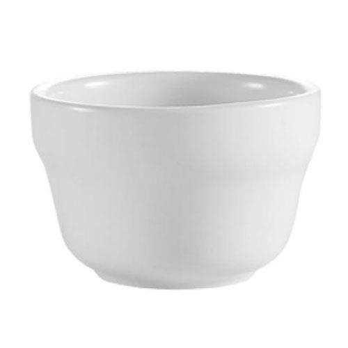 CAC RCN-4 7 1/4 oz Bouillon Cup Bright White (3 dz per case)