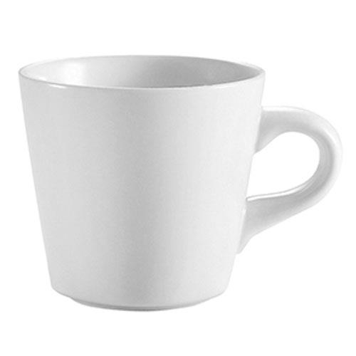 CAC RCN-1 Bright White Coffee Cup 7 oz. (3 dz per case)