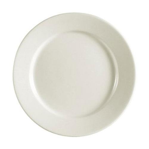 CAC REC-16 RE White Plate 10 1/2