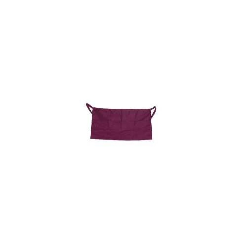 Apron Waist Burgundy 4 Pocket