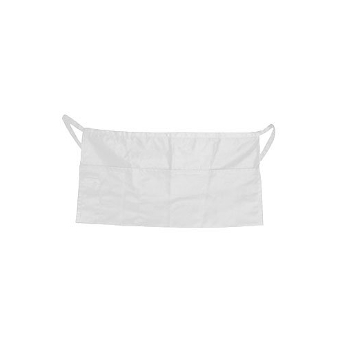 Apron Waist White 4 Pocket