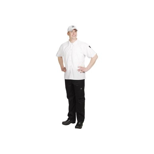 Short Sleeve Cook's Shirt, 3X-Large