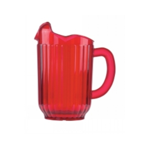 Red Pitcher, 60 oz. 3 Spout