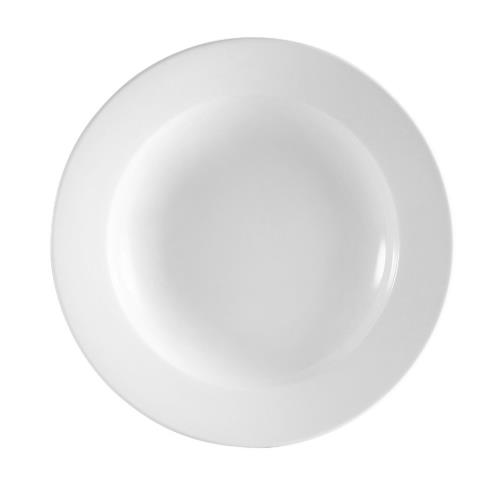 CAC China RCN-3 Bright White Soup Bowl, 10 oz.