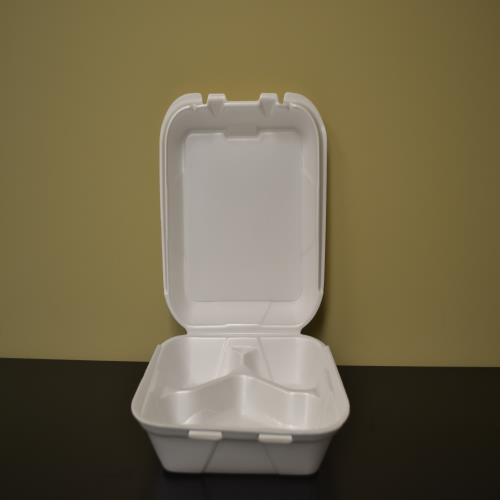 3 Section Styrofoam Tray 8