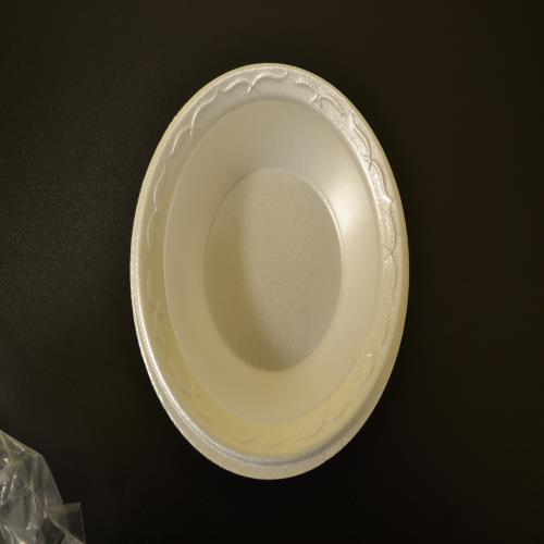 SEP 064-806 5 oz. White Styrofoam Bowl (8 Packs Per Case/125 Per Pack)