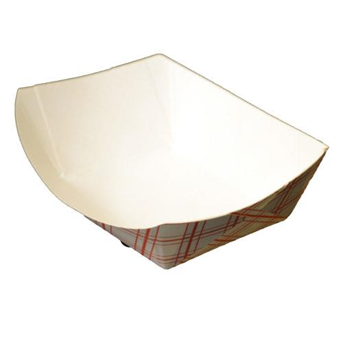 SEP 175-077 #50 Paper Food Tray 1/2# (4 Packs Per Case/250 Per Pack)